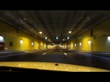 недавно открывшийся туннель из ломоносова в кронштадт(Питерская..Дамба)